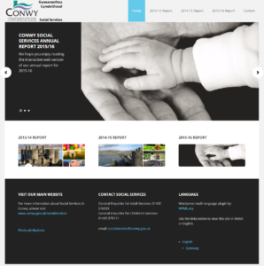 conwy-social-services-annual-report-homepage
