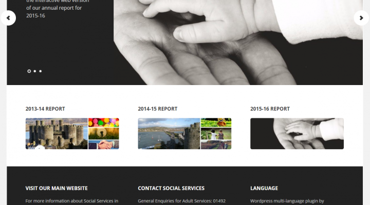 How to publish your Annual Report as a website.