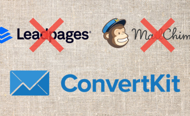 How I used Convertkit to replace both LeadPages AND Mailchimp