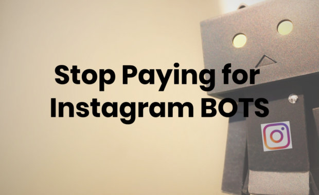 stop paying for instagram bots